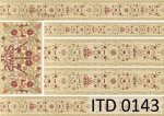 Decoupage paper ITD D0143
