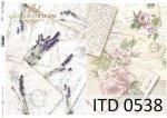 Decoupage paper ITD D0538
