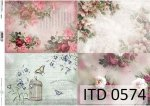 Decoupage paper ITD D0574