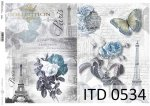 Decoupage paper ITD D0534