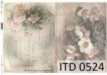 Decoupage paper ITD D0524