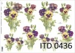 Decoupage paper ITD D0436