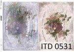 Decoupage paper ITD D0531