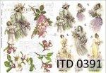 Decoupage paper ITD D0391