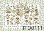 Decoupage paper ITD D0111