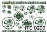 Decoupage Paper ITD D0299