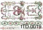 Decoupage paper ITD D0019
