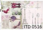 Decoupage paper ITD D0516