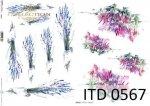Decoupage paper ITD D0567