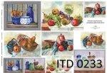 Decoupage paper ITD D0233