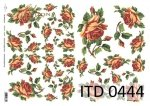 Decoupage paper ITD D0444