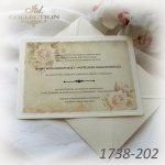 Invitations / Wedding Invitation 01738