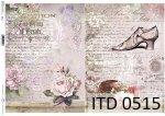Decoupage paper ITD D0515