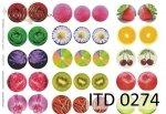 Decoupage paper ITD D0274