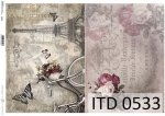 Decoupage paper ITD D0533