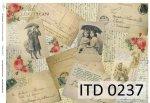 Decoupage paper ITD D0237