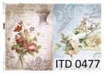 Decoupage paper ITD D0477