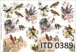 Decoupage paper ITD D0389