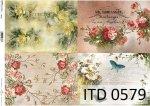 Decoupage paper ITD D0579