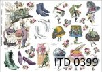 Decoupage paper ITD D0399