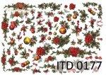 Decoupage paper ITD D0177