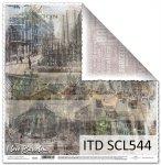 Papier scrapbooking SCL544