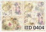 Papier decoupage ITD D0404