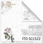 Papier scrapbooking SCL522