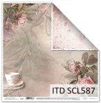 Papier scrapbooking SCL587