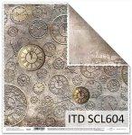 Papier scrapbooking SCL604