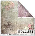 Papier scrapbooking SCL584