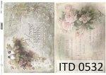 Papier decoupage ITD D0532