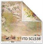 Papier scrapbooking SCL538