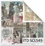 Papier scrapbooking SCL549