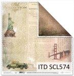 Papier scrapbooking SCL574