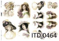 Papier decoupage ITD D0464