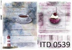 Papier decoupage ITD D0539