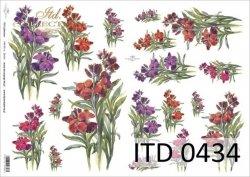 Papier decoupage ITD D0434