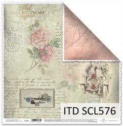 Papier scrapbooking SCL576