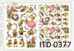 Papier decoupage ITD D0377
