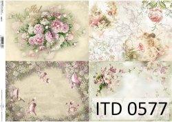 Papier decoupage ITD D0577