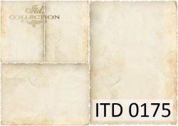 Papier decoupage ITD D0175