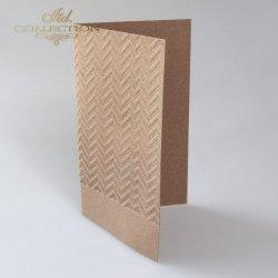 Baza do kartki BDK-024 - 185x107 mm * EKO - zygzaki