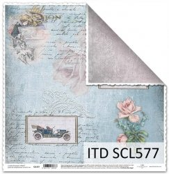 Papier scrapbooking SCL577