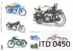 Papier decoupage ITD D0450
