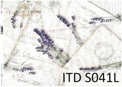 Papier decoupage SOFT ITD S0041L