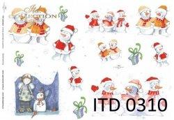 Papier decoupage ITD D0310
