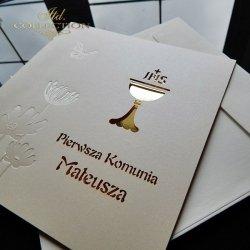 Zaproszenie komunijne 1726_20_złoto