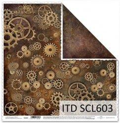 Papier scrapbooking SCL603