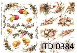 Papier decoupage ITD D0384